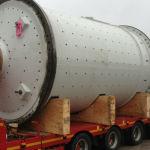 Heavy haulage – pendulumk mill