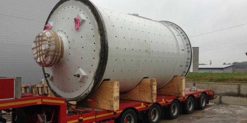 Heavy haulage - pendulumk mill