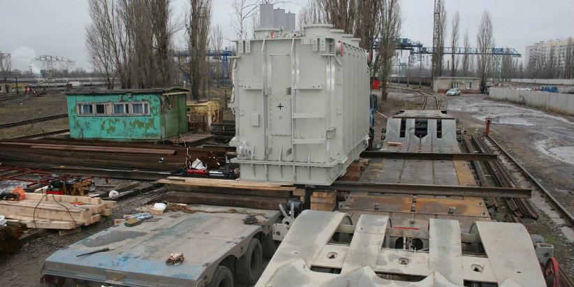 Перевозка крупногабаритного и тяжеловесного трансформатора