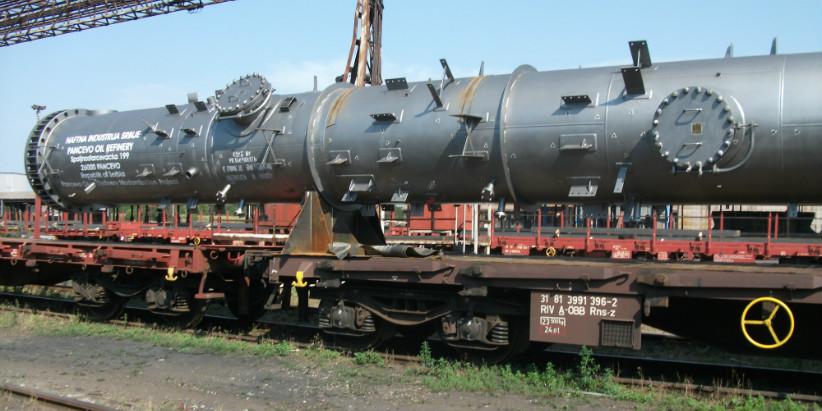 Перевозка нефтяного оборудования из Пензы (Россия) в Панчево (Сербия)