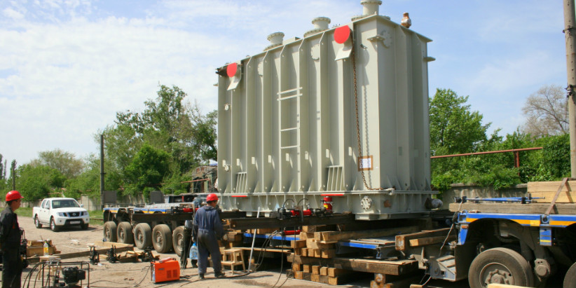 Transportation the power Transformers for Moscow TPP-20 (Mosenergo)