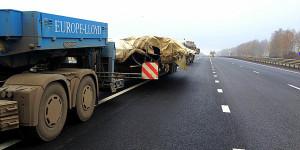 Правилами перевозки крупногабаритных грузов