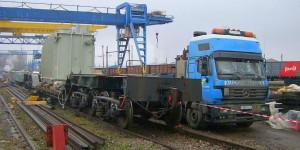 Железгодорожные перевозки негабаритных грузов