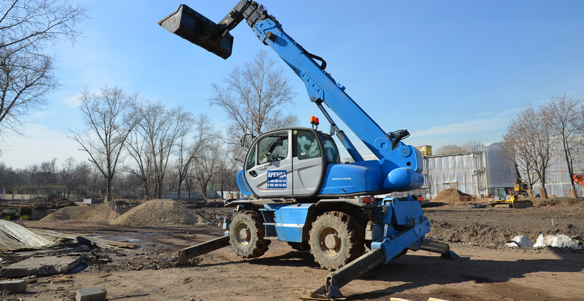 Telescopic handler for rent in Moscow