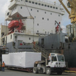 Oversized cargo transport – compressor unit