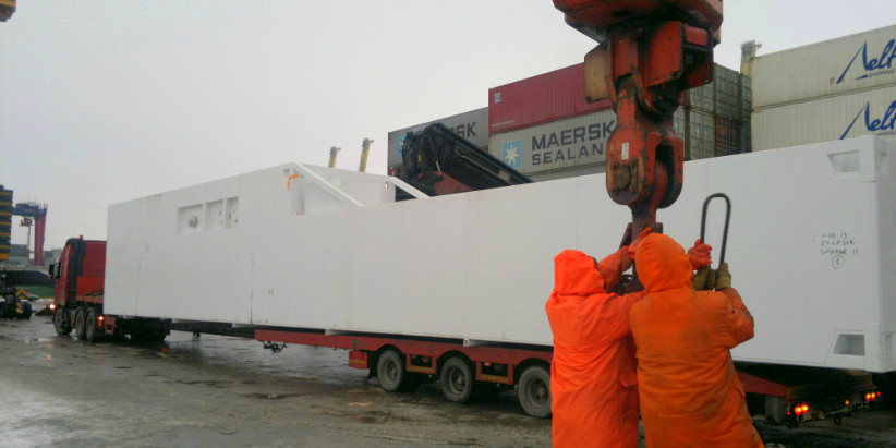 Oversized cargo transportation to Voronezh